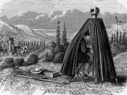 Tent Camera Obscura 19th Century At Science And Society Picture