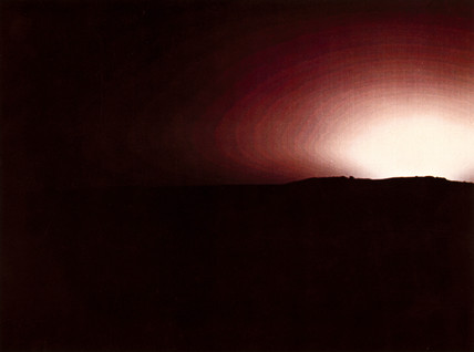 Sunset on Mars photographed by Viking 2, 1976.