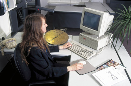 Multi MIMSY in use, Science Museum, London, 1996.