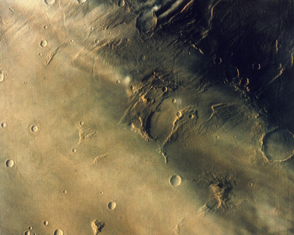 Surface of the planet Mars, 1976.