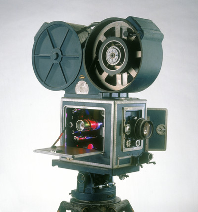 Technicolor three-colour 35mm camera, c 1955.