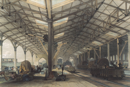 Goods Shed, Bristol, Great Western Railway, 1846.