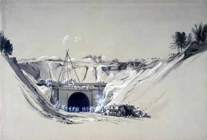 Watford Tunnel, Hertfordshire, 6 June 1837.