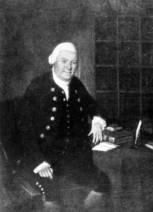 John Anderson, founder of the University of Strathclyde, c 1780.
