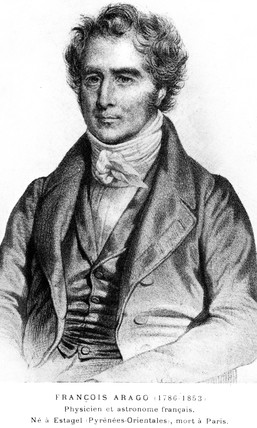 Francois Arago, French astronomer, physicist and statesman, early 19th century.
