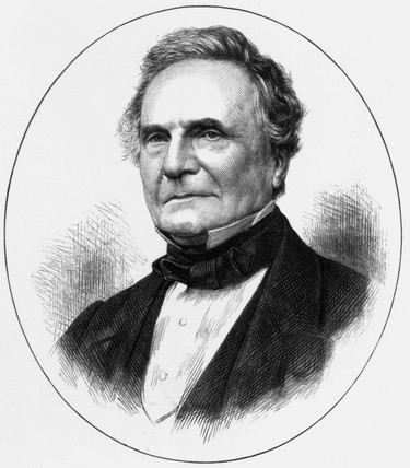 Charles Babbage, British mathematician and computing pioneer, c 1870.