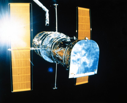Hubble Space Telescope, 1980s.