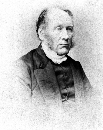 Patrick Bell, British inventor of the first efficient reaping machine, c 1850-1869.