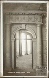 Doorway from Nassau House, 13, Orange Grove rebuilt in Parade Gardens, Bath c.1910