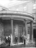 Portico with urchins, Cross Bath, Bath c.1903