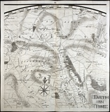 Thos. Thorpe Map of 5 miles round Bath. Cold Ashton, Charmy Down, Langridge, Tracey Park, Woolley, Swainswick, Lansdown 1742