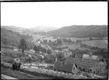View of the Limpley Stoke Valley towards Dundas Aqueduct c.1905?