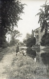 Fishing on the Kennet and Avon Canal, Bathampton c.1920