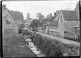 Priston looking down the stream, 1932