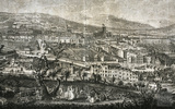 A South West Prospect of the City of Bath 1757 - detail