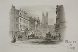 The Lion Hotel, Guildhall and Abbey Church, Bath 1850