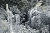 Abandoned lock at Combe Hay c.1950s
