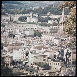 Dufaycolor view of Bath from Beechen Cliff, May 1937
