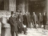 Visit of Sir George Reid High Commissioner of Australia to the Roman Baths, April 15th 1910