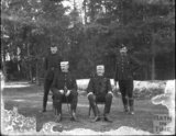 Senior Officers, unidentified military camp, c.1900s