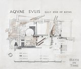 Roman Baths - east end of Baths - plans of Roman remains , c.1900?