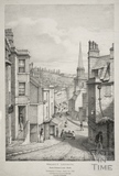 Walcot Church from Guinea Lane, Bath c.1833