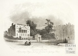 Proprietary College, Sydney Gardens and Sydney Place, Bath c.1855?