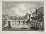 The Old Bridge, Bath 1819