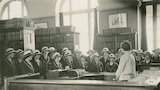 Municipal Library extension work - lecturing c.1925