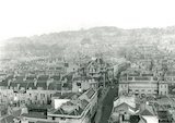 View up Stall Street from the tower of St James Church, Bath, c.1930s