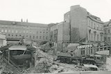 The demolition of the New Royal Baths, St Michael's Place, Bath, 18 July 1986