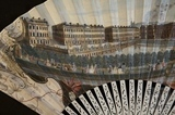 Fan view of the Parades, Harrison's Walk and Bowling Green, Bath c.1752-3 - detail