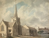 St. Thomas à Becket Church, Box c.1831