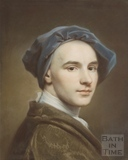 William Hoare - self portrait in pastel c.1742