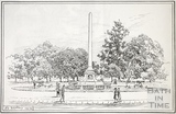 The Obelisk, Victoria Park, Bath 1918