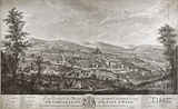 A Southwest Prospect of the City of Bath 1754