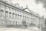 The north side of Queen Square, Bath 1939