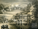 Prior Park and Palladian Bridge, Bath