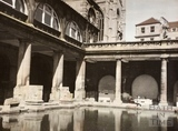 The Roman Baths, Bath 1961