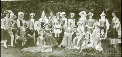 Bath Historical Pageant. Episode 4. King Henry VII and Court July 1909