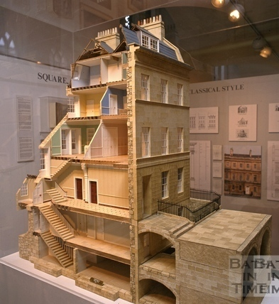 Delightful Cutaway Model Of A House In Great Pulteney Street