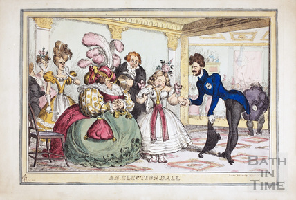 An Election Ball c.1835