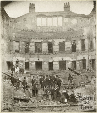 Theatre Royal Interior, Bath - After the fire of 1862
