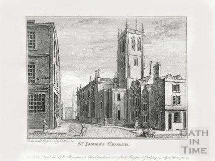 St. James's Church, Bath 1784