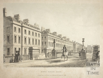 North Parade, Bath c.1837