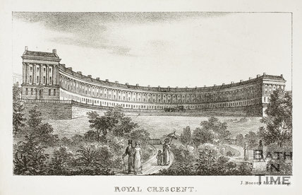 Royal Crescent, Bath 1823