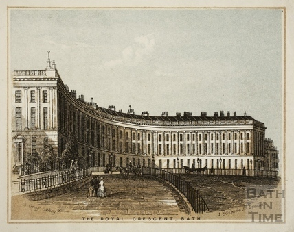 The Royal Crescent, Bath c.1851