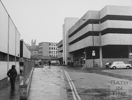 Ham Gardens Multi-storey car park, Bath 1974