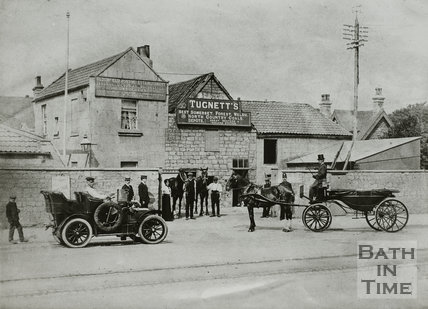 Bloomfield Coal Works, 12, Wellsway, Bath c.1910