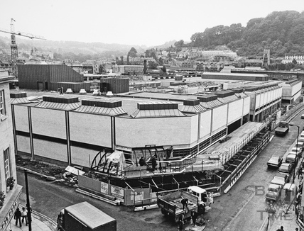 Southgate Shopping Centre, Bath 1973
